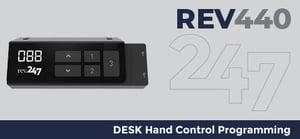 Desk Hand Control Programming Instructions