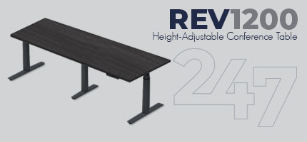 REV1200 Height-Adjustable Conference Table Data Sheet