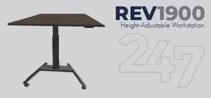 REV1900 Height-Adjustable Workstation Data Sheet