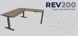REV200 Height-Adjustable Desk Data Sheet