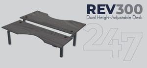 REV300 Dual Height-Adjustable Desk Data Sheet