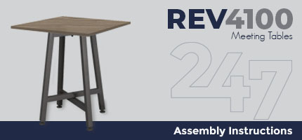 Meeting Table Assembly Instructions