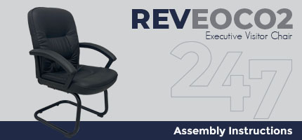 REVEOC02 Executive Visitor Chair Assembly Instructions