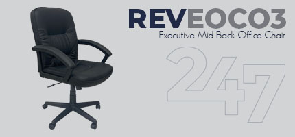 REVEOC03 Executive Mid Back Office Chair Data Sheet