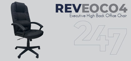 REVEOC04 Executive High Back Office Chair Data Sheet