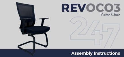 REVOC03 Visitor Chair Assembly Instructions