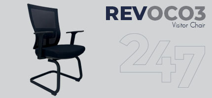 REVOC03 Visitor Chair Data Sheet