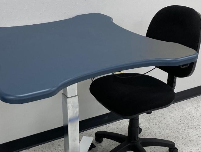 custom desk table and chair