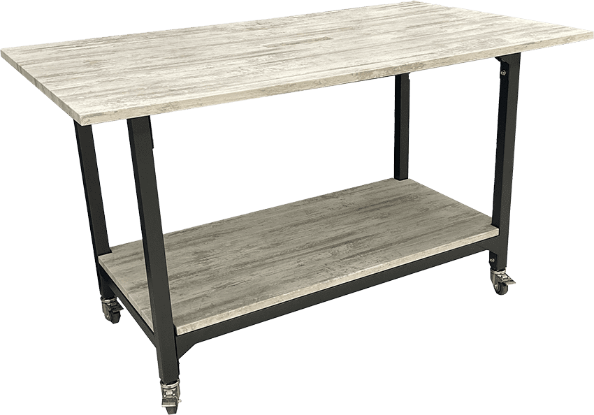 rev5100 casters standing conference table