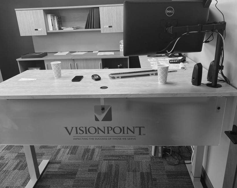 visionpoint office desk